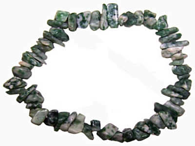 TREE AGATE Chip Bracelet